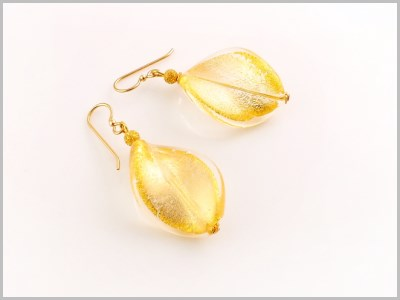 Athina Boucles d'oreilles Verre Murano